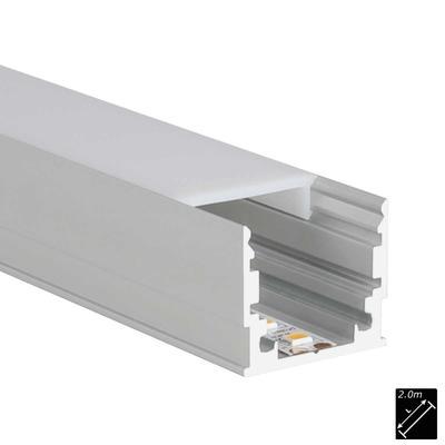 ALU PROFILE M-LINE STANDARD silber 2m