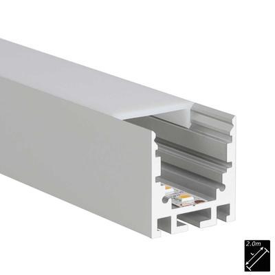 ALU PROFILE M-LINE STANDARD 24 silber 2m