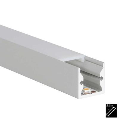ALU PROFILE S-LINE STANDARD silber 2m