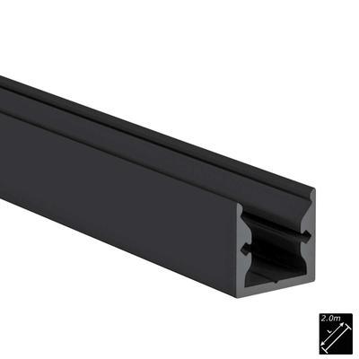 ALU PROFILE S-LINE STANDARD schwarz 2m